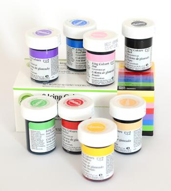 zestaw barwników